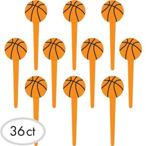 Basketball Party Picks 36ct
