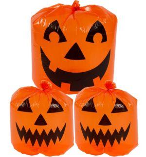 Pumpkin Lawn Bags 3pc