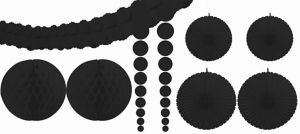 Black Decorating Kit 9pc