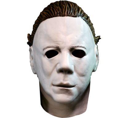 Michael Myers Mask with Hair - Halloween II