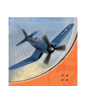 Planes Lunch Napkins 16ct