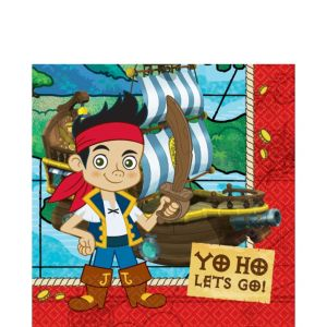 Jake and the Never Land Pirates Lunch Napkins 16ct