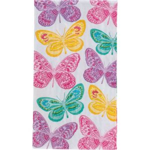 Spring Butterflies Guest Towels 16ct