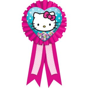 Rainbow Hello Kitty Award Ribbon
