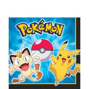 Pokemon Lunch Napkins 16ct