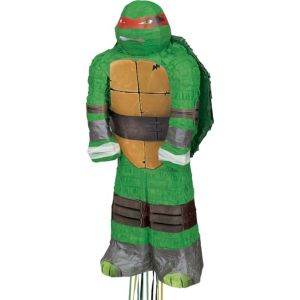 Pull String Raphael Teenage Mutant Ninja Turtles Pinata