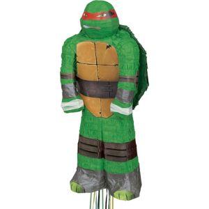 Pull String Raphael Teenage Mutant Ninja Turtles Pinata