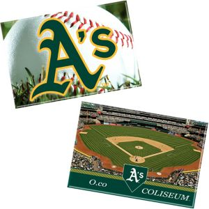 Oakland Athletics Magnets 2ct