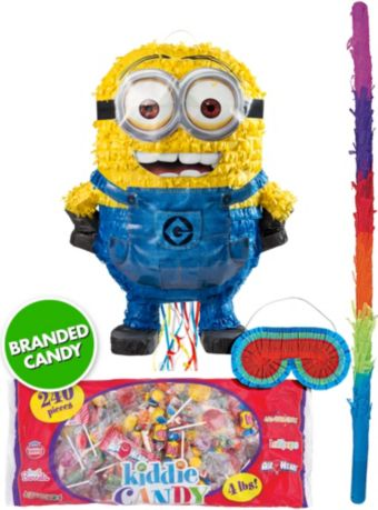 Pull String Bob Minion Pinata Kit - Despicable Me 2