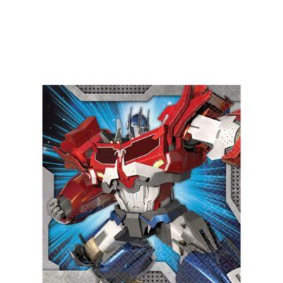 Transformers Beverage Napkins 16ct