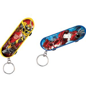 Transformers Skateboard Keychains