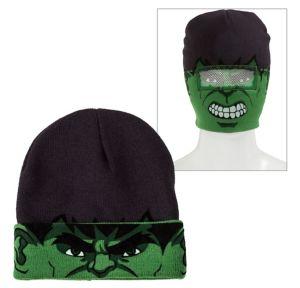 Hulk Roll-Down Mask Beanie