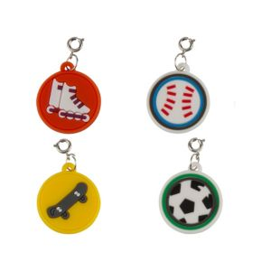 Loom Band Sports Charms 4ct