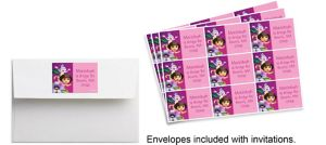 Custom Dora Flower Fun Sticker