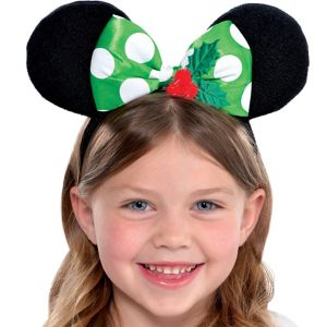 Child Holiday Minnie Mouse Headband