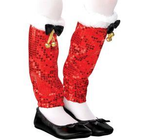 Child Santa Legwarmers