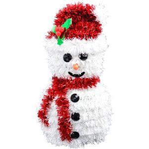 3D Tinsel Snowman