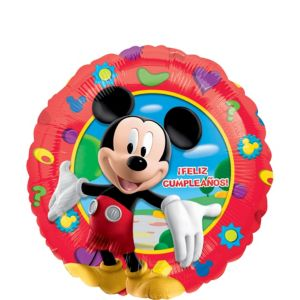 Feliz Cumpleanos Mickey Mouse Balloon