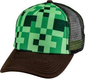 Green Pixel Trucker Hat