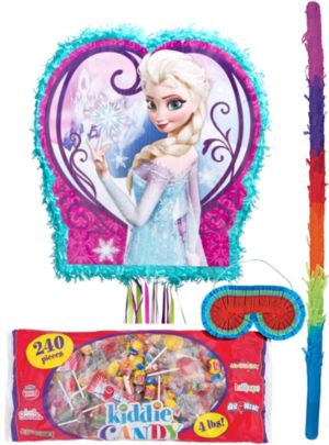 Pull String Frozen Pinata Kit