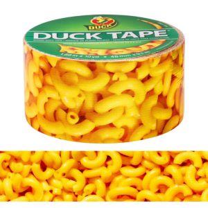 Macaroni and Cheese Duck Tape