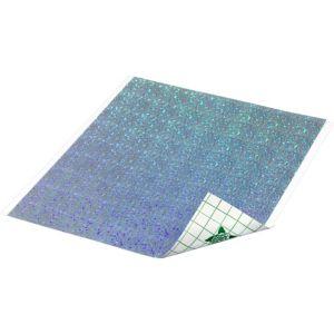 Prismatic Silver Dots Duck Tape Sheet
