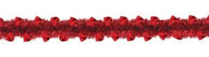 Red Heart Boa Tinsel Garland