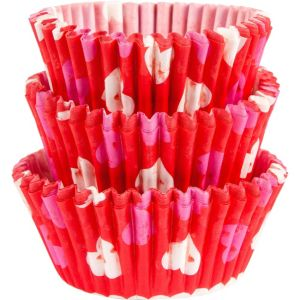 Bold Valentine's Day Baking Cups 75ct