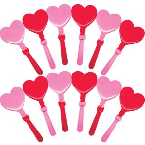 Heart Hand Clappers 12ct