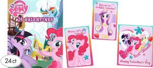 My Little Pony Valentine Exchange Cards 24ct