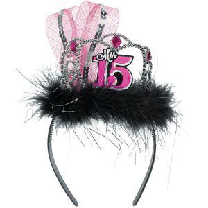 Mis Quince Quinceanera Tiara Headband