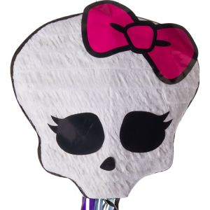 Pull String Monster High Skullette Pinata