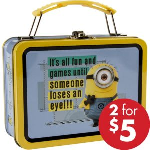 Mini Despicable Me Minion Tin Box