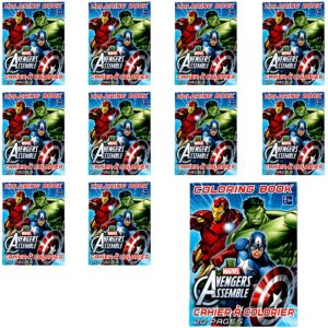 Avengers Coloring Books 48ct