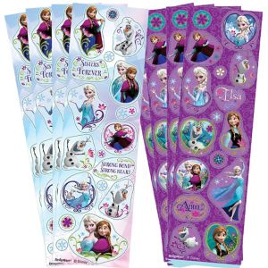 Frozen Stickers 8 Sheets