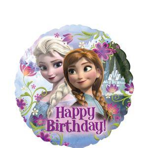 Happy Birthday Frozen Balloon