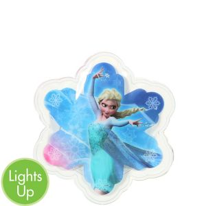 Yazzles Light-Up Elsa Snowflake Sticker Badge - Frozen