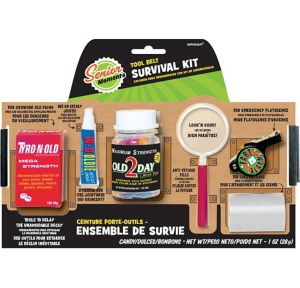 Over the Hill Survival Tool Belt 6pc