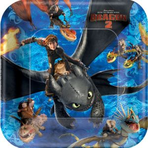 How to Train Your Dragon Lunch Plates 8ct