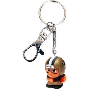 TeenyMates Clip-On New Orleans Saints Keychain