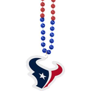 Houston Texans Pendant Bead Necklace