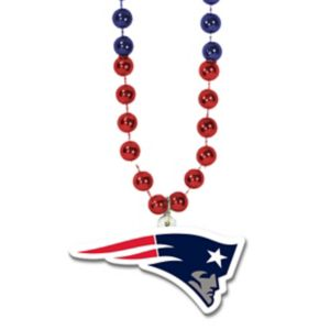 New England Patriots Pendant Bead Necklace