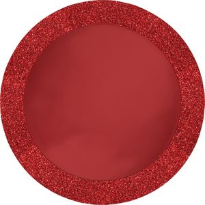 Glitter Red Placemats 8ct