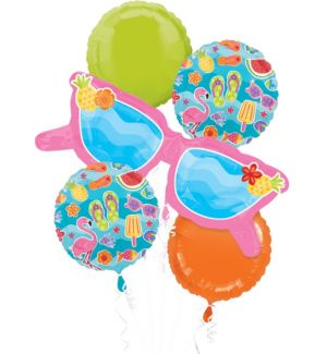Summer Fun Balloon Bouquet 5pc