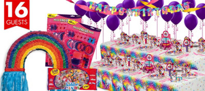 Lisa Frank Rainbow Horse Party Supplies Ultimate Party Kit