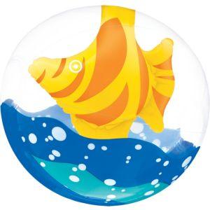3D Fish Clear Beach Ball