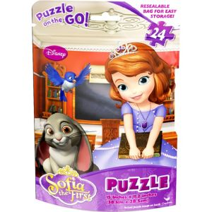 Sofia the First Puzzle Bag 24pc