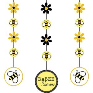 Bumblebee Baby Shower String Decorations 3ct