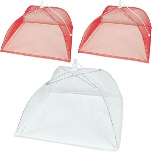 Picnic Party Mesh Food Covers 3ct