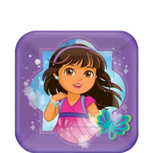 Dora and Friends Dessert Plates 8ct